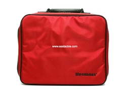 Megabass - Reel Protection Bag - RED