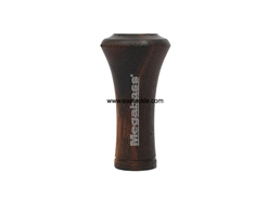 Megabass - Trumpet Taper Wood Knob - KOKUTAN (EBONY WOOD) | Eastackle