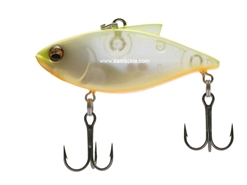 Megabass - Vibration-X Power Bomb (Rattle In) - PEARL CHART - Sinking Lipless Crankbait | Eastackle