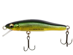 Megabass - X-55 Great Hunting - M GOLD GREEN - Sinking Finesse Minnow | Eastackle