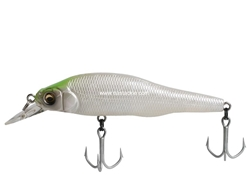 Megabass - X-80 SW - SHELL SKIN SILKY GREEN - Sinking Minnow | Eastackle
