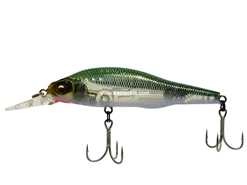 Megabass - X-80+1 SW - HT CRUISING GREEN - Sinking Minnow | Eastackle