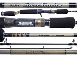 Megabass - XOR Silver Shadow - SSR-63LC - Bait Casting Rod | Eastackle