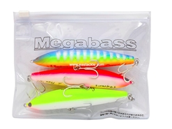 Megabass - ZIP LURE CASE - BLACK - Tackle Organiser | Eastackle