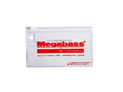 Megabass - Zip Lure Case - Small - MEGABASS RED - Tackle Organiser | Eastackle