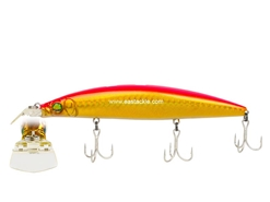 Megabass - Zonk 120 SW - Gataride Hi-Pitch - GG PINK BACK GOLD - Floating Minnow | Eastackle