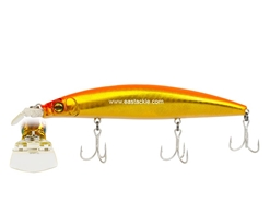 Megabass - Zonk 120 SW - Gataride Hi-Pitch - GG VALENCIA GOLD - Floating Minnow | Eastackle
