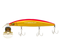 Megabass - Zonk 120 SW - Gataride Yoro-Yoro - GG PINK BACK GOLD - Floating Minnow | Eastackle