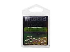 Mustad - 8 Shape Ring - Size S | Eastackle
