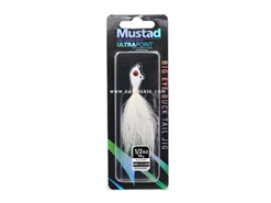 Mustad - Big Eye Bucktail Jig Head - 1/2oz - WHITE | Eastackle