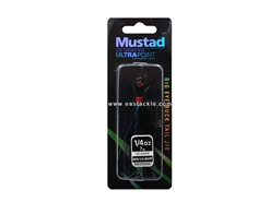 Mustad - Big Eye Bucktail Jig Head - 1/4oz - BLACK PURPLE | Eastackle