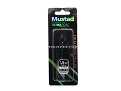 Mustad - Big Eye Bucktail Jig Head - 1/8oz - BLACK | Eastackle