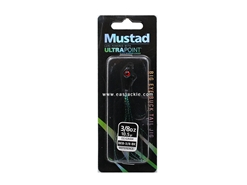 Mustad - Big Eye Bucktail Jig Head - 3/8oz - BLACK | Eastackle