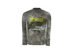 Mustad - Day Perfect Shirt BBS CAMO - SIZE XXS