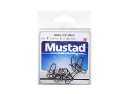 Mustad - Duo Lock Snap - #2 | Eastackle