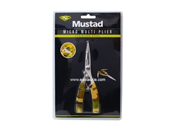 Mustad - Finesse Camouflage Multi-Pliers | Eastackle