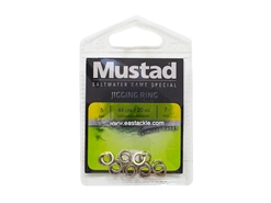 Mustad - MA105-SS Jigging Ring - Size 5 | Eastackle