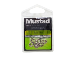 Mustad - MA105-SS Jigging Ring - Size 6 | Eastackle