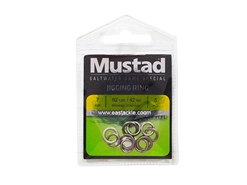 Mustad - MA105-SS Jigging Ring - Size 7 | Eastackle