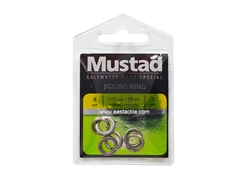 Mustad - MA105-SS Jigging Ring - Size 8 | Eastackle
