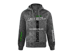 Mustad - Pro Wear Hoody Kaiju - GRAY - S | Eastackle