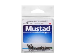 Mustad - Rolling Swivel Round Eye - #10 | Eastackle