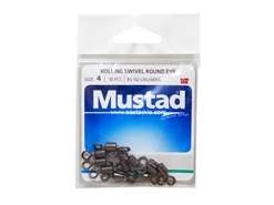 Mustad - Rolling Swivel Round Eye - #4 | Eastackle