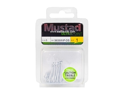 Mustad - Saltism 4X Strong #1 - Treble Hook | Eastackle