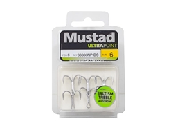 Mustad - Saltism 4X Strong #6 - Treble Hook | Eastackle