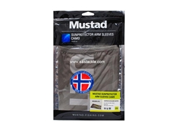 Mustad - Sunprotector Arm Sleeves - SIZE L/XL - CAMO | Eastackle