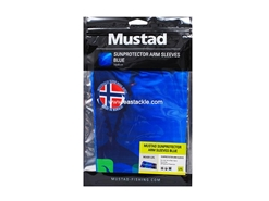 Mustad - Sunprotector Arm Sleeves - SIZE L/XL - TOURNAMENT BLUE | Eastackle