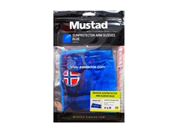Mustad - Sunprotector Arm Sleeves - SIZE S/M - TOURNAMENT BLUE | Eastackle