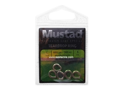 Mustad - Teardrop Ring - Size L | Eastackle
