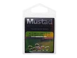 Mustad - Teardrop Ring - Size M | Eastackle