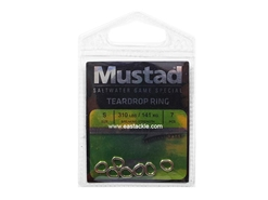 Mustad - Teardrop Ring - Size S | Eastackle