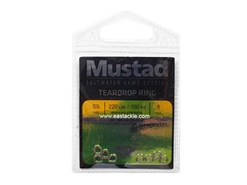 Mustad - Teardrop Ring - Size SS | Eastackle