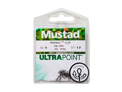 Mustad - Ultra Point - Fastach Clip Size 0 | Eastackle