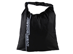 OverBoard - 1 Litre Dry Pouch - BLACK - Weatherproof Bag | Eastackle