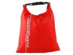 OverBoard - 1 Litre Dry Pouch - RED - Weatherproof Bag | Eastackle