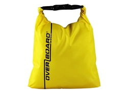 OverBoard - 1 Litre Dry Pouch - YELLOW - Weatherproof Bag | Eastackle
