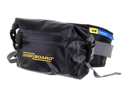 OverBoard - 3 Litre Pro-Light Waist Pouch - BLACK - Waterproof Bag | Eastackle
