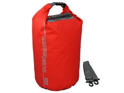 OverBoard - 30 Litre Dry Tube - RED - Waterproof Bag | Eastackle