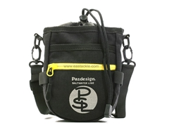 Paz Design - PSL CHALK BAG III - BLACK YELLOW
