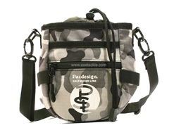Paz Design - PSL CHALK BAG III - GREY CAMO