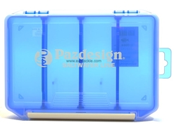 Paz Design - PSL LURE CASE - SLIM - CLEAR-BLUE