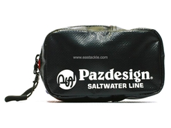 Paz Design - PSL TARPAULIN POUCH - BLACK-ORANGE