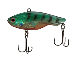 Preduce Longze MK2 - Soft Plastic Vibration Lure (16 grams) -  Green Tiger Red Belly