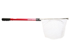Prox - Silicon Rubber Foldable Landing Net EX15 - RED