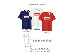 Rapala - CLASSIC Series T-Shirt - WHITE - L | Eastackle