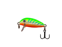 Rapala - Countdown CD01 - GREEN TIGER UV - Sinking Minnow | Eastackle